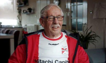 Roelof Hollander (77): de oudste speler van FC Emmen (met filmpje)