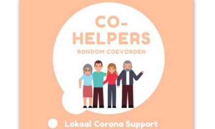 Coevorden Co-Helpers: ideeën zijn welkom!