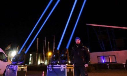 Theatertechnici laten licht stralen