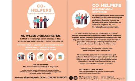 Folders Rondom Coevorden Co-Helpers worden verspreid