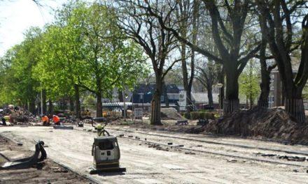 Werk aan de riolering in Dalen is nog in volle gang