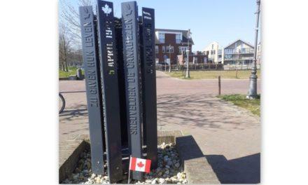"""""""Canadees vlaggetje als klein gebaar"""""""