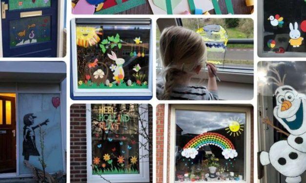 Nieuwe rage: Heel Holland Plakt