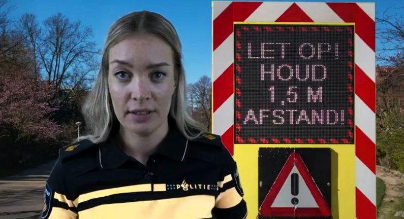 Politie Drenthe: blijf thuis!