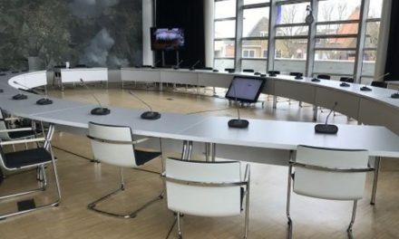 Raadscommissie vergadert via videoconferentie