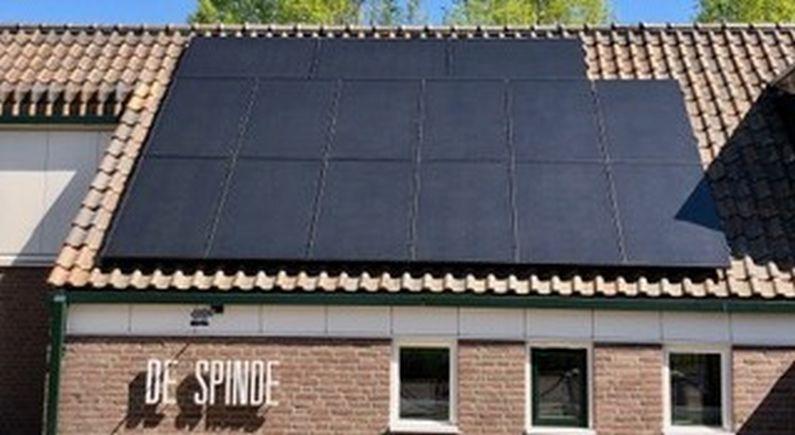 De Spinde voorzien van zonnepanelen