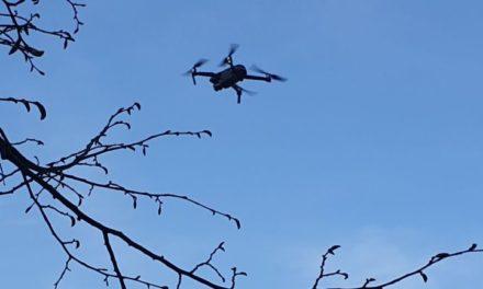 Politie zet drone in bij controles