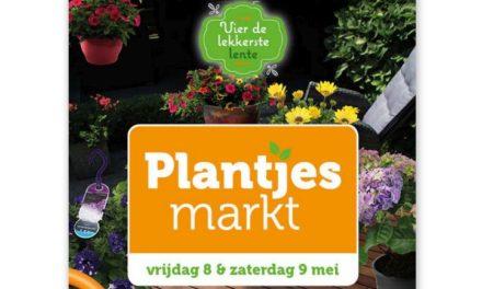Coop Martijn Seigers houdt plantjesmarkt