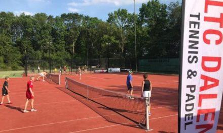 Ook niet-leden LTC Dalen kunnen kennismaken met tennis en padel