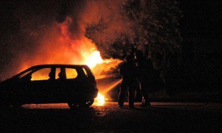Auto aan Kromme Elleboog uitgebrand