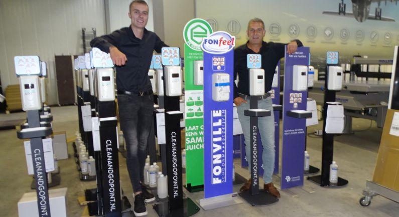 Clean & Go Point biedt mooie oplossing voor contactloze desinfectie