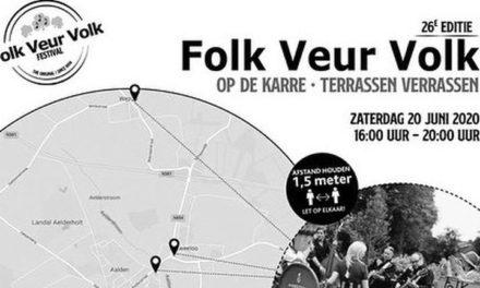 'Folk Veur Volk' gaat vandaag de karre op!