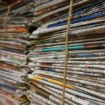 Inzameling oud papier in Dalen