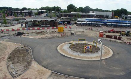 Herinrichting Stationsplein nadert voltooiing