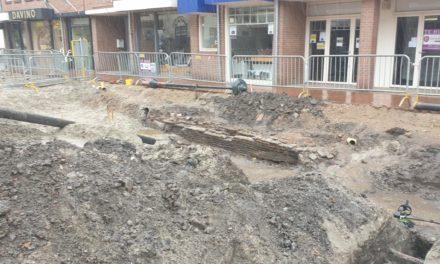 Zand erover in Friesestraat