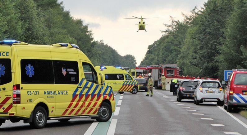 Vier gewonden bij ongeval op N381 (update)