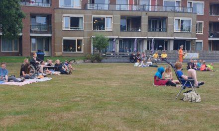 Vossenjacht met spelletjes in Van Heutszpark
