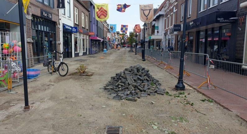 Volgende deel Friesestraat op de schop
