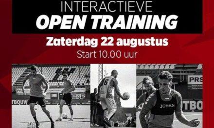 FC Emmen verzorgt open training