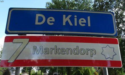 De Kiel onthult bord 7-Markendorp (met filmpje)