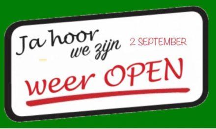 Kledingbank Schoonoord gaat weer open