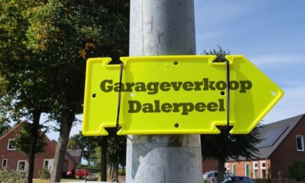 Zaterdag 19 september: garageverkoop Dalerpeel