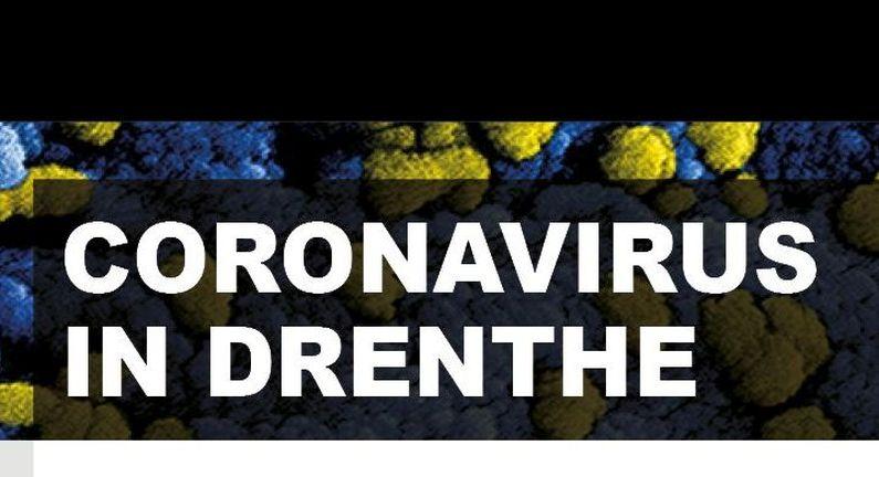 Ruim 1300 besmettingen en 24 personen overleden in Drenthe