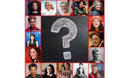 Wie kent vrouwen, die het verschil maken?