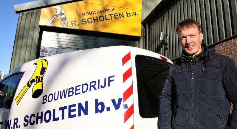 W.R. Scholten draagt bouwbedrijf over aan Zweers