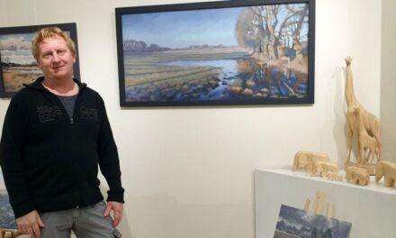 Harry Soepenberg exposeert werk in Kunst op Vijf