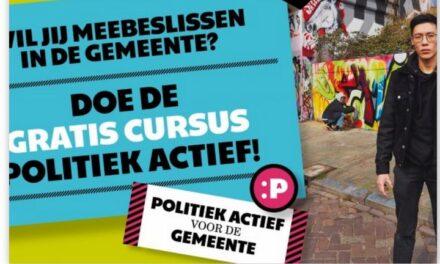 Gemeenteraad houdt cursus Politiek Actief