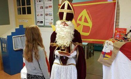 Sint bezoekt scholen in De Kiel en Schoonoord