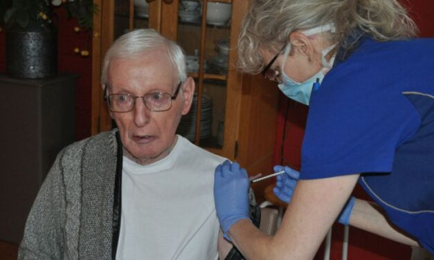 Vaccinatie in Aleida Kramer gestart