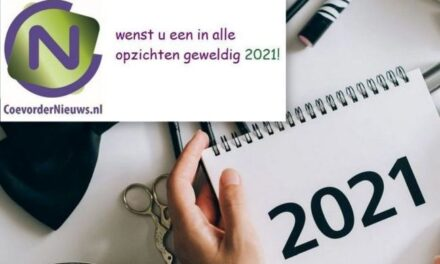 Een fijn en gezond 2021!