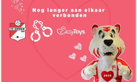 Liefde FC Emmen en EasyToys houdt stand