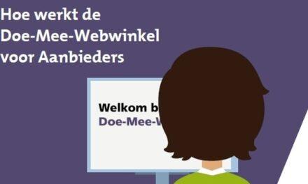 Gemeente biedt Doe-Mee-Webwinkel