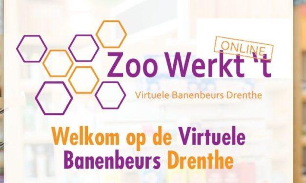 Banenbeurs Drenthe gaat online