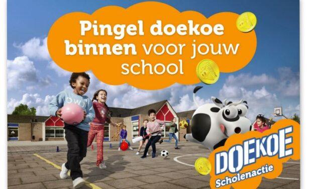 Coop Martijn Seiger houdt Doekoe-scholenactie