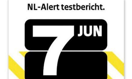 Overheid verzendt 7 juni een NL-Alert testbericht