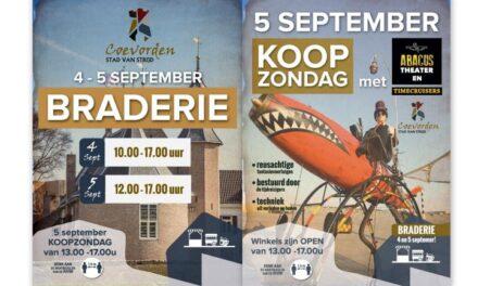 Braderie in centrum Coevorden