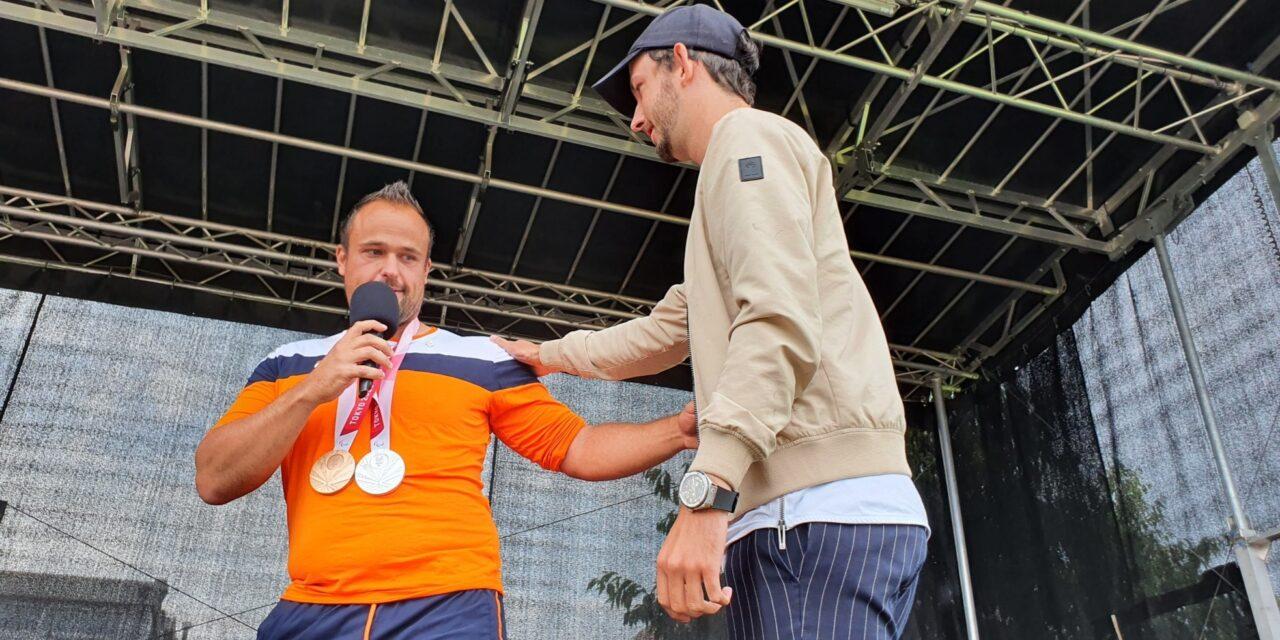 Tom Egberink krijgt Zilveren Ster van Coevorden