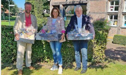 Burgemeesters nemen afscheid van Europark GmbH