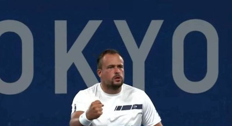 Tom Egberink bereikt finale in enkelspel